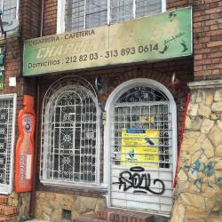 Cigarrería Cafetería Chaplinn´s 55 en Bogotá