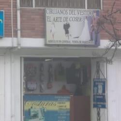 Cirujanos del Vestido El Arte de Coser en Bogotá