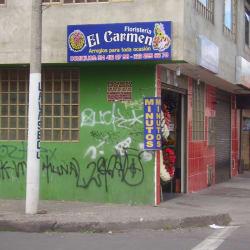 Floristeria El Carmen  en Bogotá
