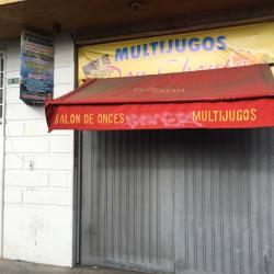 Multijugos y Cevichería en Bogotá