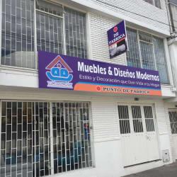 Muebles y Diseños Modernos  en Bogotá