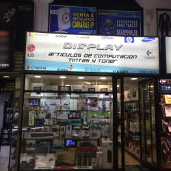 Display en Santiago