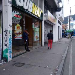 Subway  Calle 57 en Bogotá