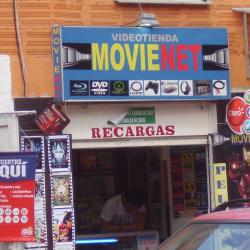 Videotienda MovieNet en Bogotá
