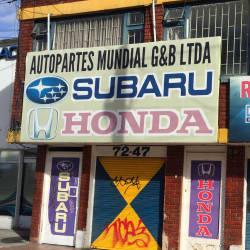 Autopartes Mundial G y B Ltda en Bogotá