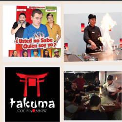Takuma Cocina Show en Bogotá