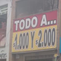 Todo a $1000 y $2000 en Bogotá
