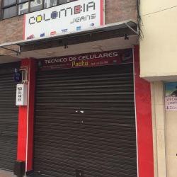 Almacén de Ropa Colombia Jeans en Bogotá