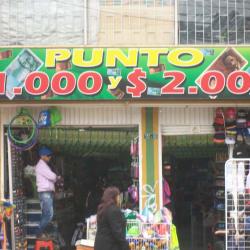 Punto $ 1000 y $ 2000 en Bogotá