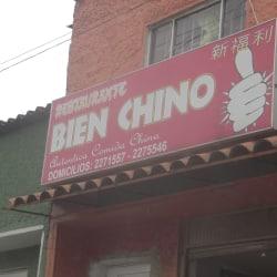 Restaurante Bien Chino en Bogotá