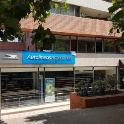 Aerolineas Argentinas- Roger De Flor en Santiago