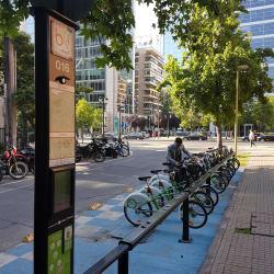 Bici Las Condes - Hendaya / Apoquindo en Santiago