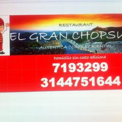 Restaurante Chino Gran Chop Suey en Bogotá