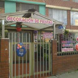 Piñateria Calle 64I con 85 en Bogotá