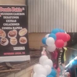 Restaurant Donde Pablo en Santiago