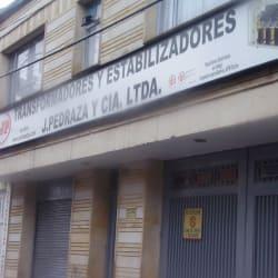 Transformadores y Estabilizadores J. Pedraza y Cia en Bogotá