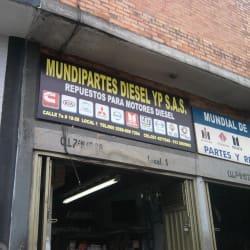 Mundipartes Diesel y P S.A.S. en Bogotá