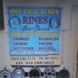 Rectificación de Rines Jose Gemelo en Bogotá