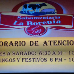 Salsamentaria La Borenia en Bogotá