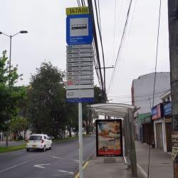 Paradero SITP Centro Médico Modelia - 147A06 en Bogotá