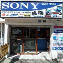 Sony Servicio Tecnico La Esperanza con 72B en Bogotá