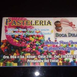 Pasteleria Boca Dulce en Bogotá