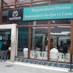 Registraduria Auxiliar la Candelaria en Bogotá
