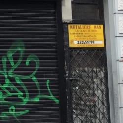 Metalicas Man La Llave de Oro en Bogotá