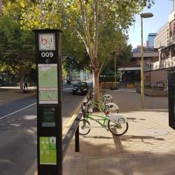 Bici Las Condes - San Crescente / Napoléon en Santiago