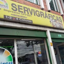 Servigráficas Graficentro en Bogotá