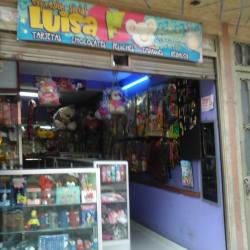 Expresión social Luisa f en Bogotá