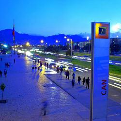 Estación CAN en Bogotá