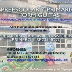 Preescolar Hormiguitas en Bogotá