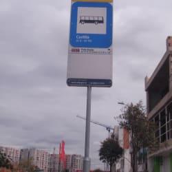Paradero SITP Barrio Castilla - 353A07 en Bogotá