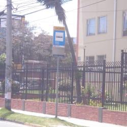 Paradero SITP Barrio Hipotecho Occidental - 141A08 en Bogotá