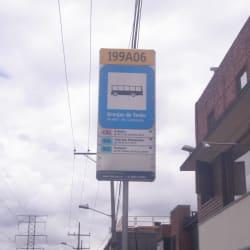 Paradero SITP Barrio Granjas de Techo - 199A06 en Bogotá