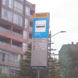 Paradero SITP Barrio Pablo VI - 196A05 en Bogotá