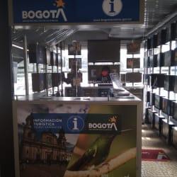 Punto de información turística Terminal Sur en Bogotá