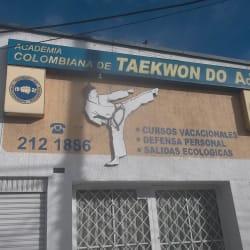 Academia Colombiana de Taekwon Do AcT en Bogotá