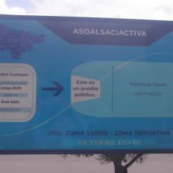 Parque Villa Alsacia Lote 1 Carrera 71C en Bogotá