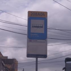 Paradero SITP El Ocha S-N - 208A04 en Bogotá