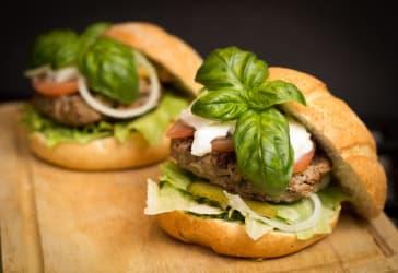 Promoción hamburguesas para dos por $39.800