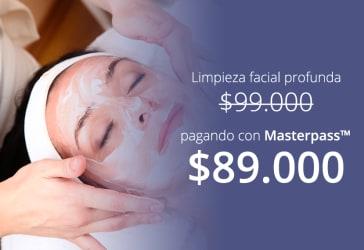 Limpieza facial profunda por $99.000