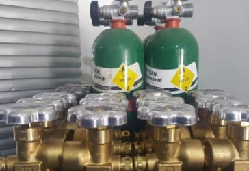 Válvulas para cilindros de Argón por $52.000
