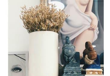 floreros cilíndricos en cerámica por $89.000