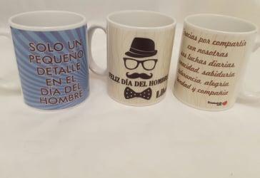 12 mugs para regalos corporativos de fin de año por $60.000