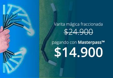 Varita mágica fraccionada por $24.900 a domicilio