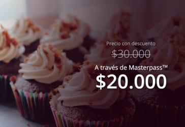 Caja de cupcakes por $30.000