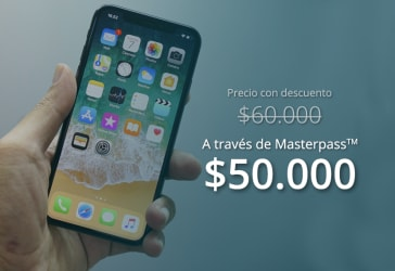 Forros para Iphone y vidrio templado por $60.000