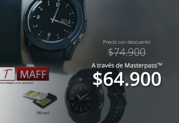 Smartwatch V8  por tan solo $74.900